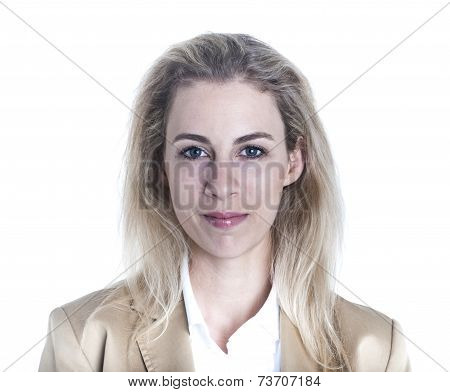 German Businesswoman Portrait