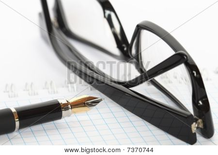 Pen And Spectacles
