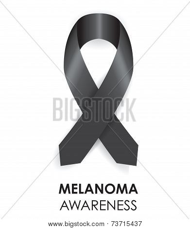 melanoma ribbon
