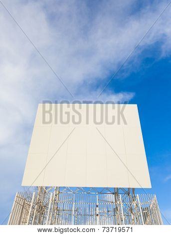 Television Repeater over a blue sky.