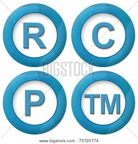 RCPTM Blue Squares Icons