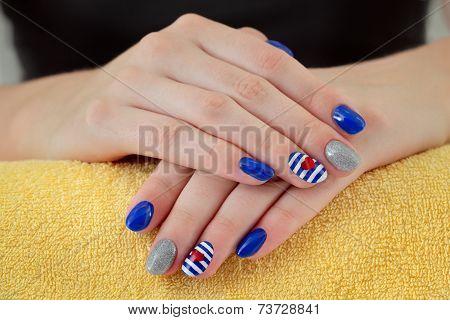 Beauty Treatment Of Fingernails