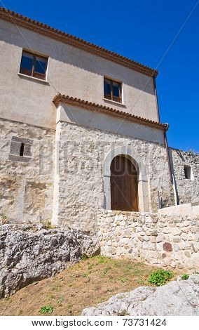 Rocca Duca di Poggiardo. Satriano di Lucania. Italy.