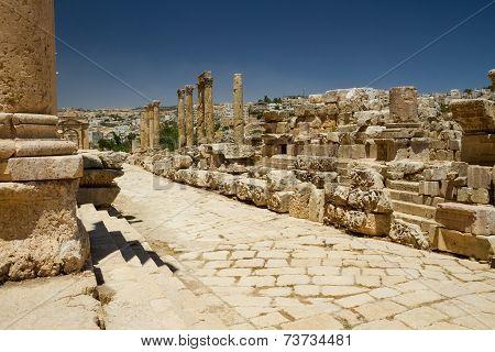 Main Road, Jerash, Jordan