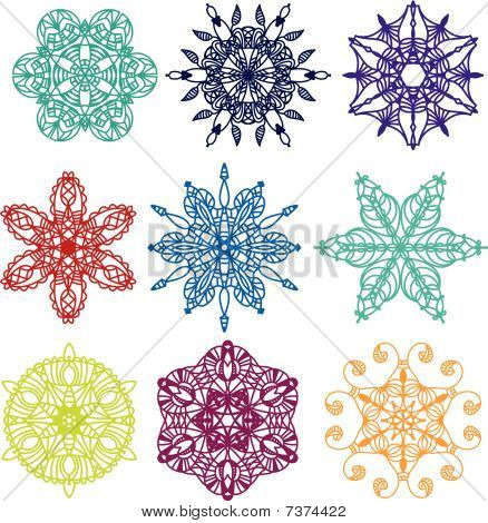 Vector Ornament collection