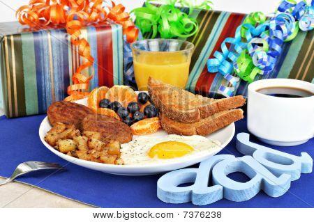 Delicious Breakfast For A Special Dad.