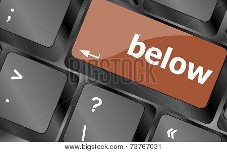 Below Word On Keyboard Key, Notebook Computer Button