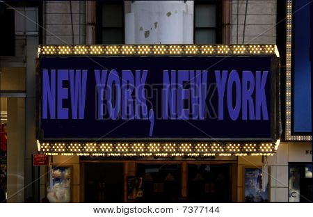 New York-Plakat