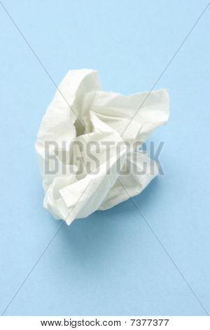Crumpled Tissue Paper