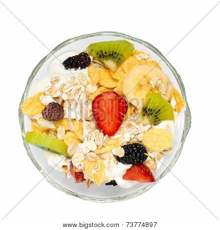 Fruits in tray
