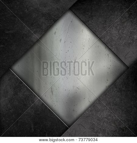 Abstract background with a grunge metal effect