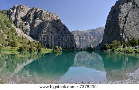 Chukurak Lake - Fann Mountains, Tajikistan
