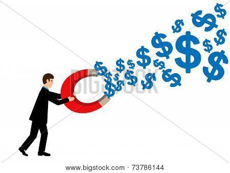 Dollar Magnet