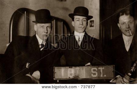 Vintage 1921 Bad Boys