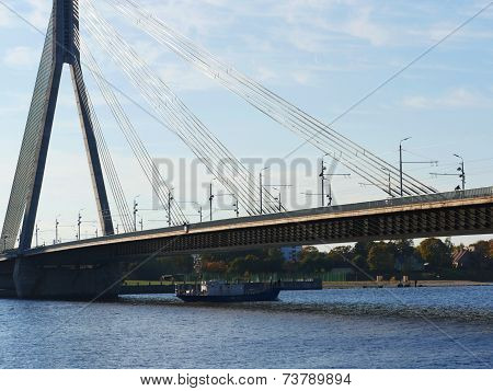 River Daugava To Vansu Bridge