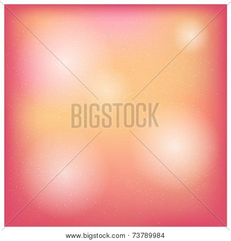 Bright background with depth and reflections of light