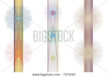 Set of tangier rosettes