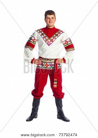 Russian Folk Dancer