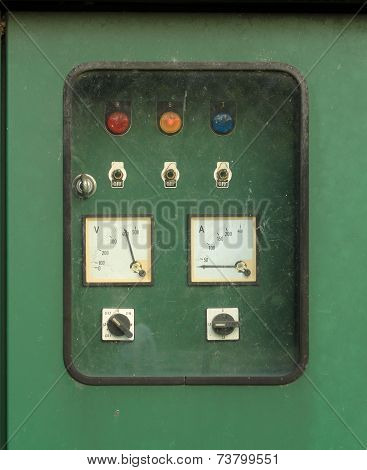 Electric Switch Control Panel