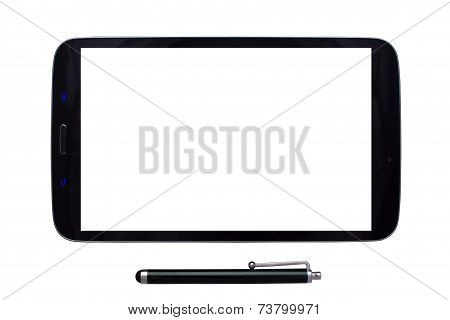 Tablet And Stylus With Blank Screen