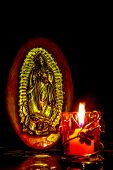 stock photo of guadalupe  - The Virgin - JPG