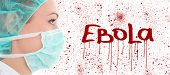 foto of bloody  - virus ebola concept  - JPG