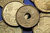 picture of spanish money  - Coins of Spain - JPG