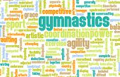 image of olympiad  - Gymnastics as an Athletic Competitive Sport Art - JPG
