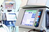 stock photo of dialysis  - Equipment in the service of medicine - JPG
