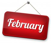picture of february  - February cold next winter month schedule and calender  - JPG