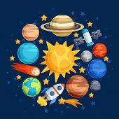 picture of uranus  - Background of solar system - JPG