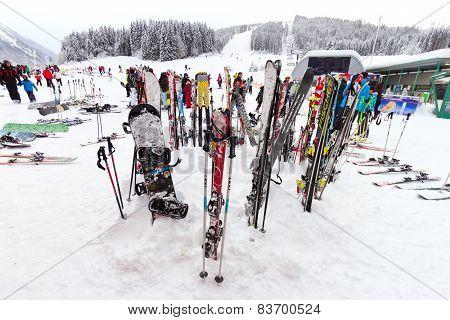 Flachau Skiing