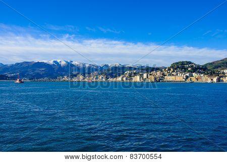 Genoa From The Sea