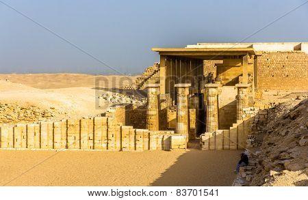 Hypostyle Hall At The Pyramid Of Zoser - Saqqara, Egypt