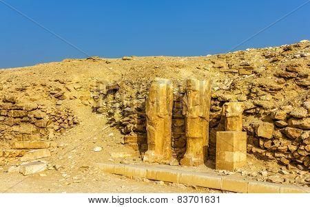 Ancient Statues At Saqqara - Egypt