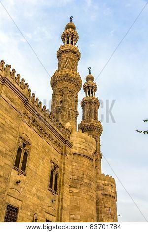 Bab Zuweila Gate In Cairo - Egypt