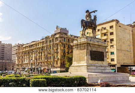 Statue Of Ibrahim Pasha In Cairo - Egypt