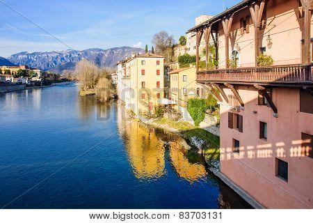 Brenta River, Bassano Del Grappa