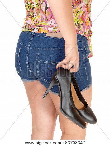 Girl Carrying Her Heels