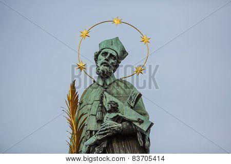 Sculpture Of St. John Of Nepomuk's