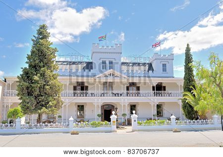 Historical Lord Milner Hotel In The Victorian Village Of Matjiesfontein