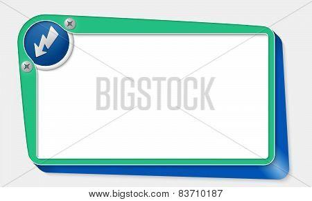 Green Vector Box