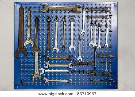 Set of spanners work tools