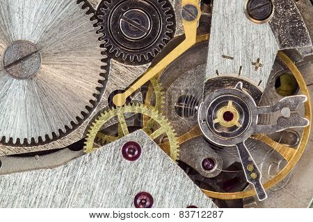 Clock machanism