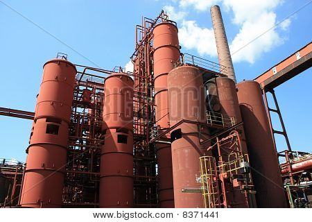 Coal mine industrial complex