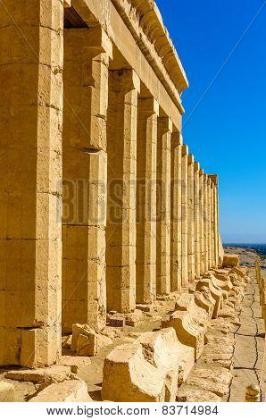 Columns Of The Hatshepsut's Temple Near Luxor - Egypt