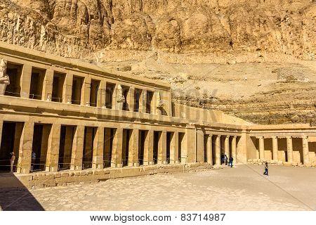 Mortuary Temple Of Hatshepsut In Deir El-bahari - Egypt