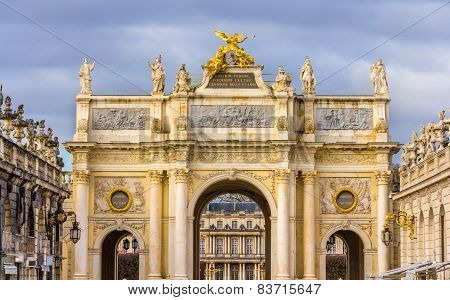 Arc Here On The Place Stanislas In Nancy - France, Lorraine