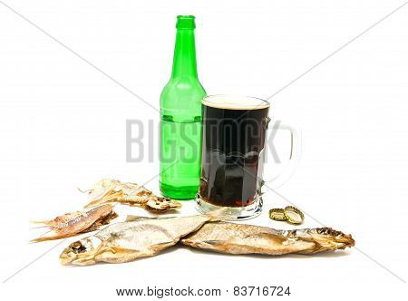 Salty Fishes And Dark Beer