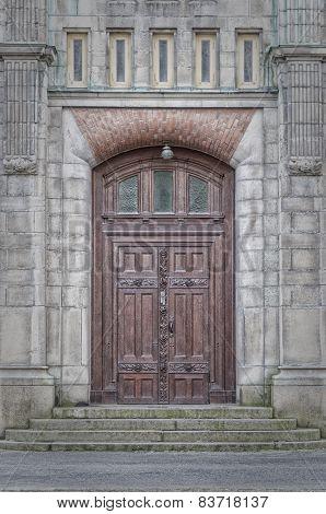 Sankt Johannes Kyrka Door